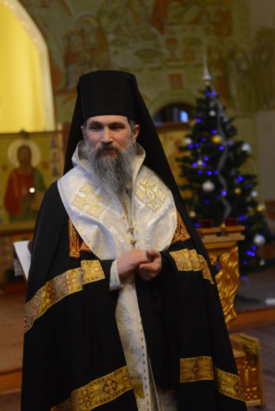 Auxiliary Bishop of Lviv Church UGCC Venedykt (Aleksiichuk)