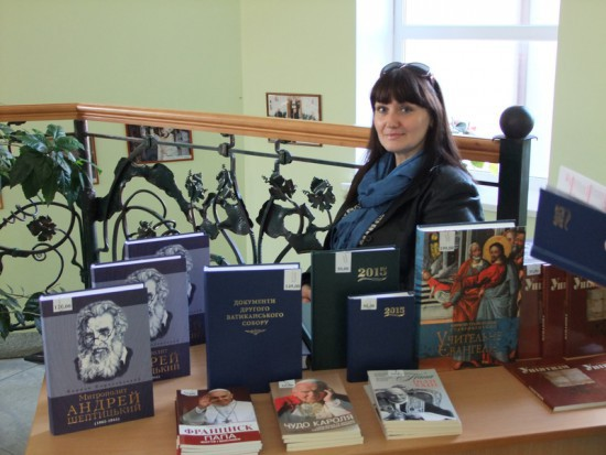 Presentation of books