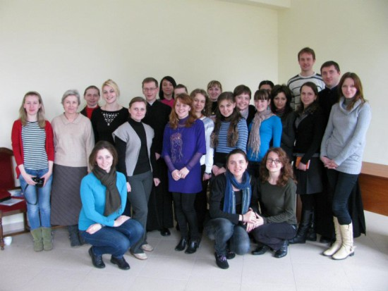 "Ecumenical Retreat ""Towards Easter"", Rudno March 30 - April 1, 2012"