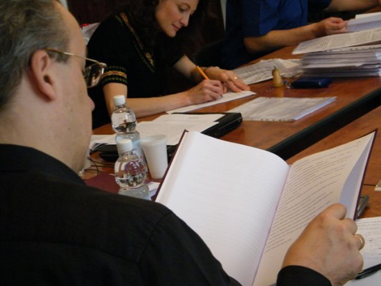 Defense of master theses on MPES ( June 21, 2011)