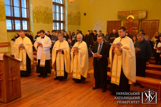 The ecumenical prayer service
