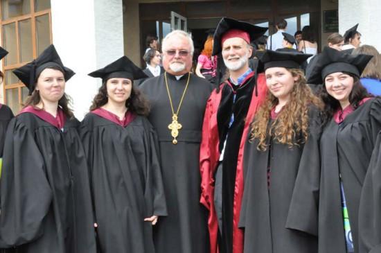 Solemnities on the occasion of investiture of diplomas of alumni of Master Program in Ecumenical Studies