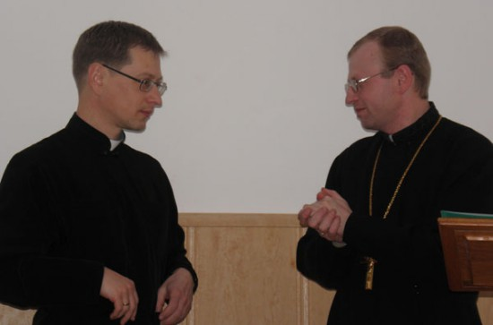 "Ecumenical recollections ""To open in oneself a new human being as a Christian "","