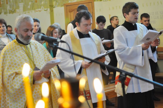 Prière interconfessionelle pour l'unité des chrétiens