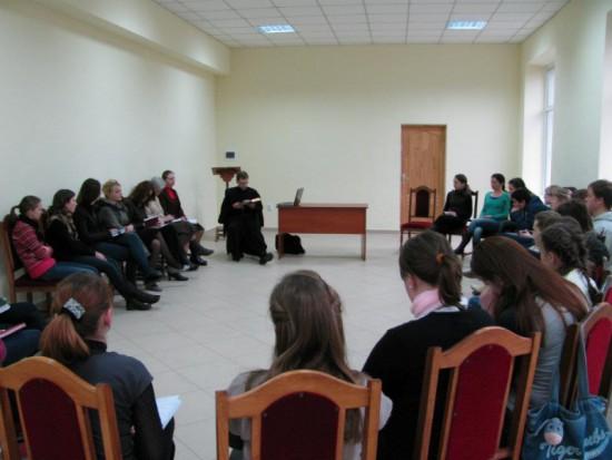 """Retraite œcuménique «Sur le chemin vers Pâques"""", village Rudno, 30 mars – 1 avril 2012"""