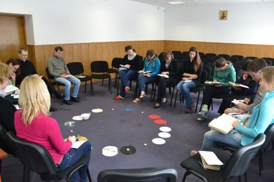 La retraite œcuménique sur l'Ecole de la prière à Brukhovychi