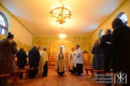 La célébration œcuménique pour la paix dans le pays et l'unité des chrétiens
