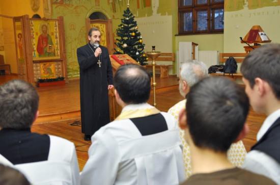 о. Тадеус Геворгян, настоятель Вірменської Апостольської Церкви у Львові