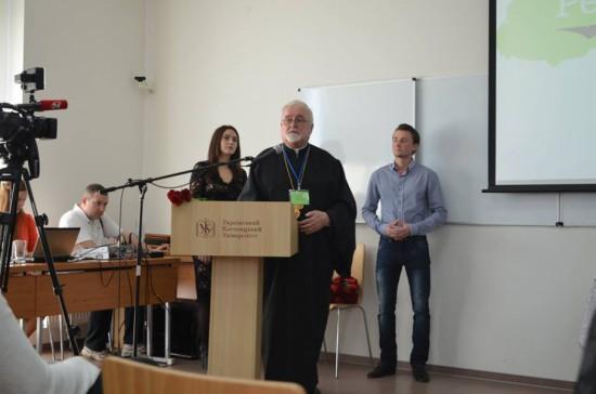 Президент ІЕС о. д-р Іван Дацько
