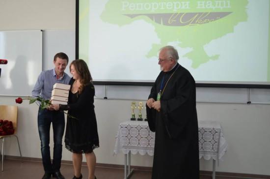 Нагородження переможців та фіналістів