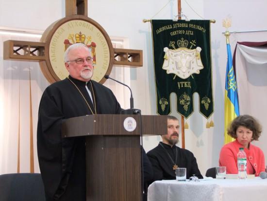 Президент ІЕС о.д-р. Іван Дацько