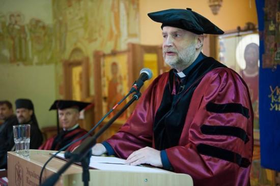Почесний гість о. д-р Юрій Аввакумов