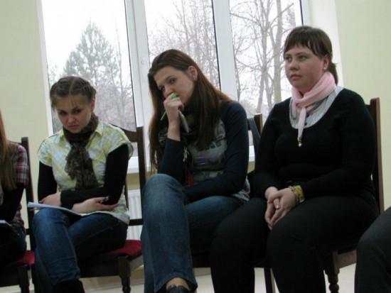 Студенти МПЕН на екуменічних реколекціях у смт. Рудно