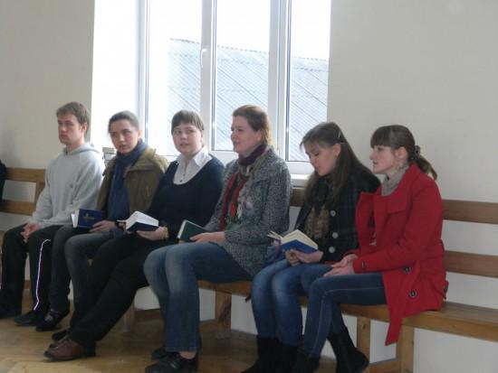 Студенти та випускники МПЕН на екуменічних реколекціях у смт. Рудно