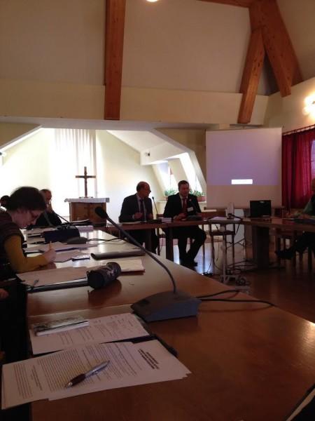 Робота конференції «Богословія Святого Духа: особистий досвід і харизматичні рухи у сучасних Церквах»