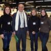 Адміністрація ІЕС з Бернардом Шеневезом, віце-президентом Соціальних Тижнів Франції