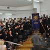 Урочистий вхід випускинків у конференц-зал УКУ