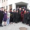 О. Іван Дацько та о. д-р. Борис Ґудзяк із випускниками МПЕН